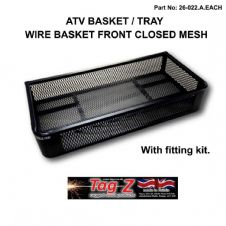 ATV Cargo Basket Tray Mesh Front STORAGE Grizzly Polaris CAN-AM Utility Quad